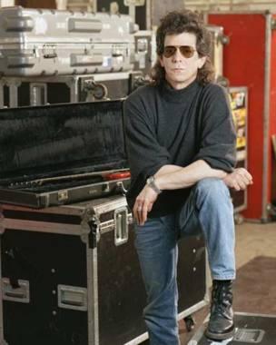 Lou Reed en estudio