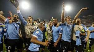 Triunfo uruguayo en Amán