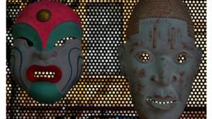Máscaras de todos os tipos e cores nas fotos dos internautas Foto:Flávia Angelini