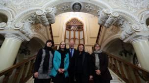 اعضای هیئت پارلمانی اروپا در تهران