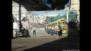 Santa Teresa, un barrio en la ciudad de Rio de Janeiro, Brasil