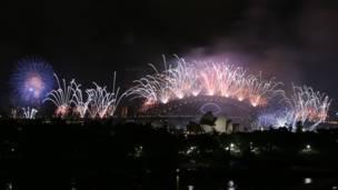 Veja na galeria de fotos como foi a comemoração da chegada de 2014 ao redor do globo