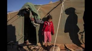 Campamento de refugiados saharahuis. Foto: Stephen Ferry.