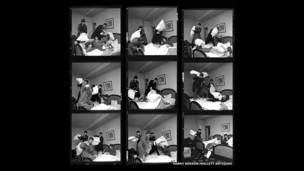A luta de travesseiros, 1964.