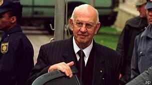 P.W. Botha, dirigente sudafricano de la era del apartheid