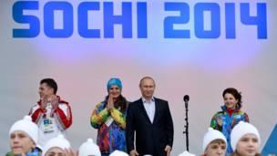 Presiden Vladimir Putin