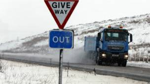 北愛爾蘭在內的一些地區更蓋上了皚皚白雪