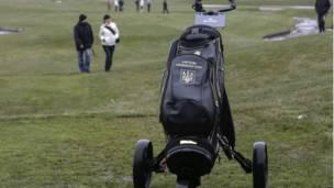 Lapangan golf di Mezhyhirya