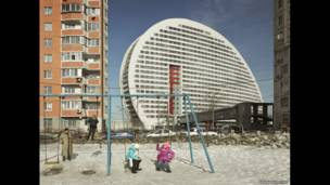 Parus Building, Moscow, 2010. FRANK  HERFORT