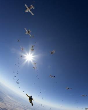 एरिज़ोना में स्काइडाइविंग इवेंट