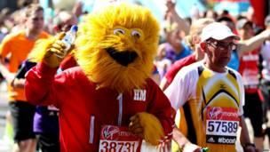 Lomba maraton di London