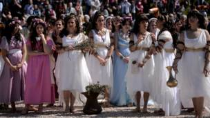 Kelompok perempuan di Roma