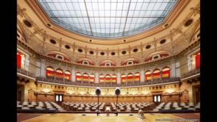 Edificio federal del Parlamento, Asamblea Nacional, Berna, 2013 (Luca Zanier)