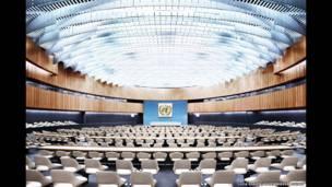 Sala XIX, ONU, Ginebra, 2013 (Luca Zanier)