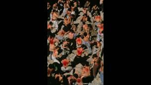 Musulmanes chiitas durante Ashura, 2002. Steve McCurry/Magnum Photos
