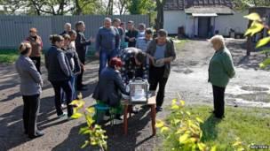 В Симферополе избиратели голосуют в автобусах - Цензор.НЕТ 7868