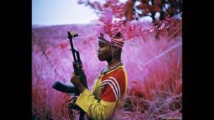 A salvo, Kivu norte, Congo oriental, 2012. Richard Mosse