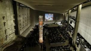 Ceremonia de inauguración del museo