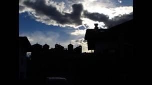 """Foto de un lector de BBC Mundo por el tema """"luces y sombras"""""""