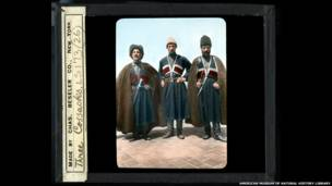 Cossacks, Ellis Island (Image ID: LS173-26) AMNH Digital Special Collections