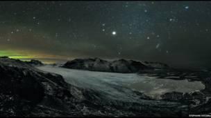 Skaftafell Noche estrellada de Stephane Vetter