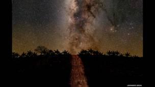 (Camino Estelar por Leonardo Ariza