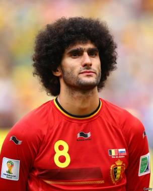 Marouane Fellaini. Getty