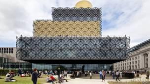 Biblioteca de Birmingham, England.