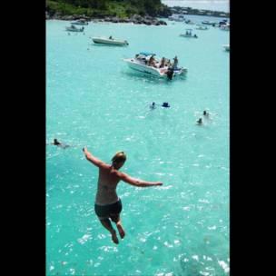 Un salto al mar