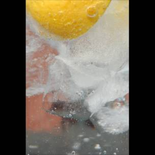 Un vaso de limonada