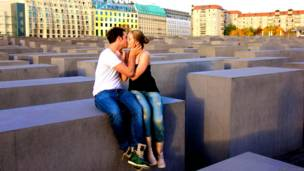 Pareja en Berlín, Alemania. Foto: Ignacio Lehmann
