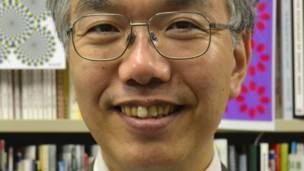 El profesor de psicología Akiyoshi Kitaoka, de la Universidad Ritsumeikan de Kioto