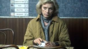 Lauren Bacall en A Foreign Field, una producción de la BBC en 1993.