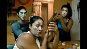 Artistas circenses colombianos en Piedecuesta, Santander. Foto: Juan David Padilla.