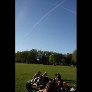 Picnic en Finsbury Park