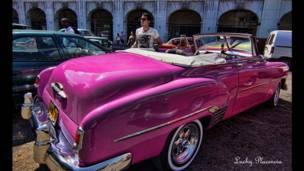 """Foto de un lector de BBC Mundo por el tema """"rosada"""""""