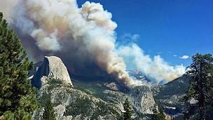 El Parque Nacional de Yosemite ocupa más de 3.000 kilómetros cuadrados.