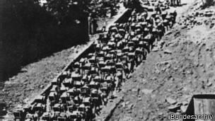 Escaleras de la muerte en Mauthausen