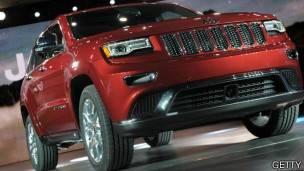 Camioneta Cherokee