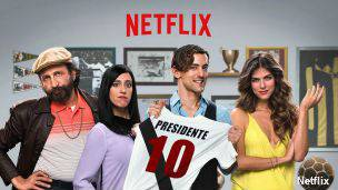 Cartel de Club de cuervos, la primera serie propia en español de Netflix.