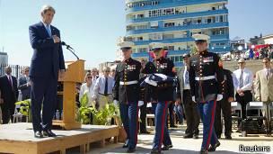 150814171257 Sp Cuba Eeuu Embassy Flag Kerry 304x171 Reuters