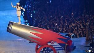Bala humana juegos olimpicos de Londres 2012