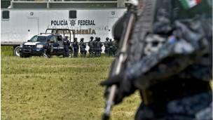 Imagen de la Policía Federal de México