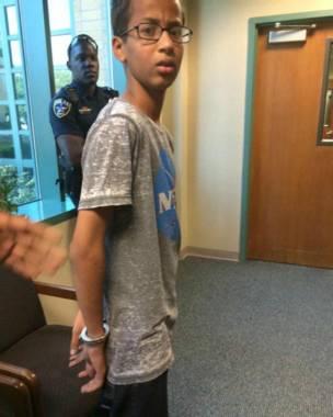niño detenido en Estados Unidos
