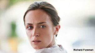 Emily Blunt en la película Sicario.