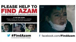 Los avisos en redes sociales con la fotografía de Azam