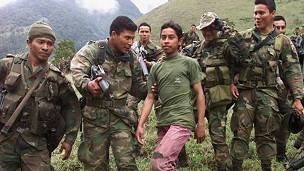 El acuerdo de Colombia con las FARC incluye la desmovilización de menores de 15 años
