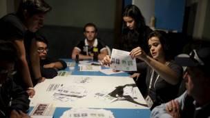Conteo de votos en Guatemala