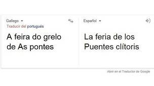 Grelos, clítoris, Google