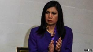 Gladys Gutiérrez, presidenta del TSJ.